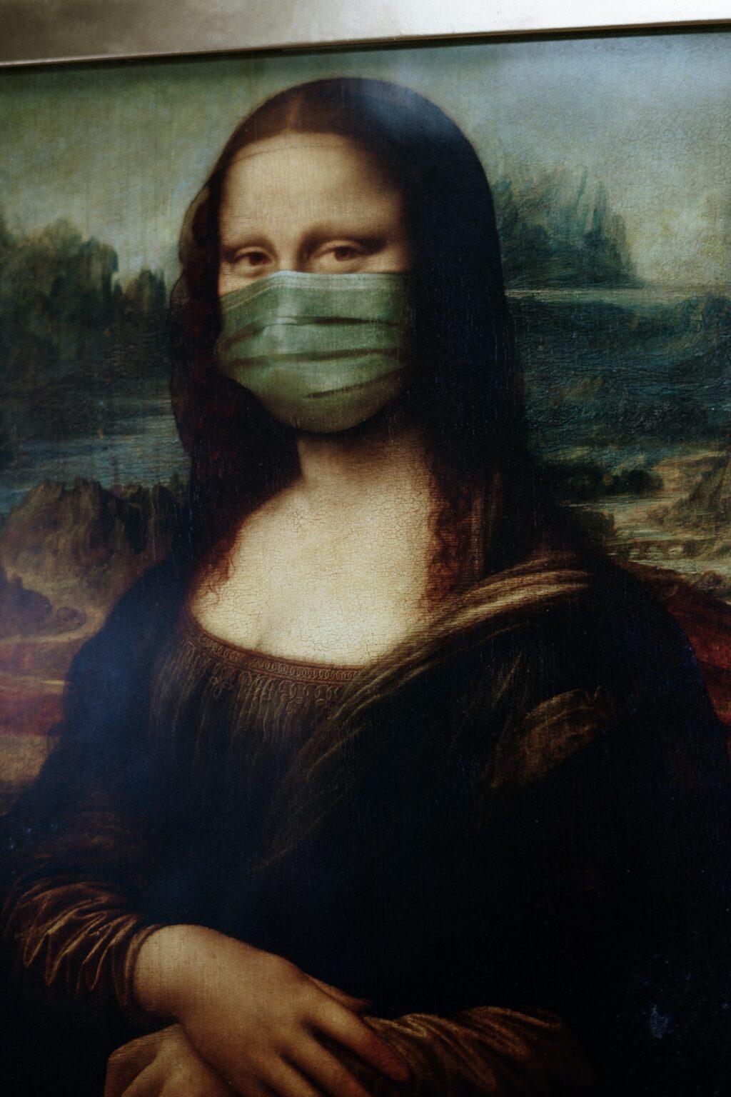 Mona Lisa, Covid 19